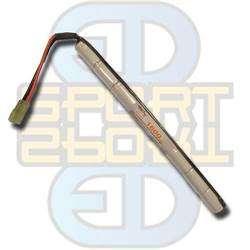 9,6V 1600mAh, NI-MH - Stick Type, Batteri