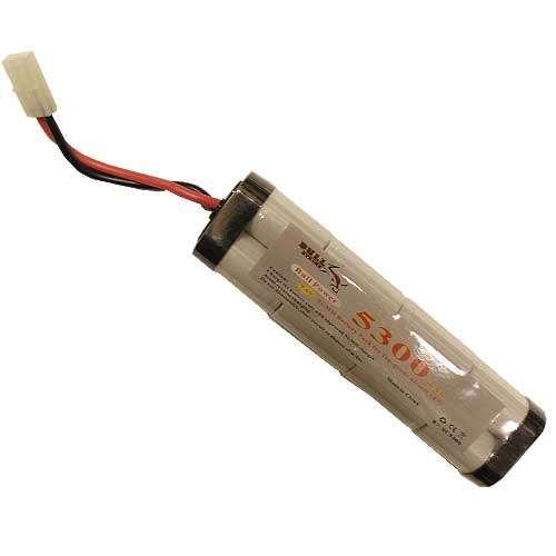 9,6V 5300mAh Ni-Mh - Large Type, batteri