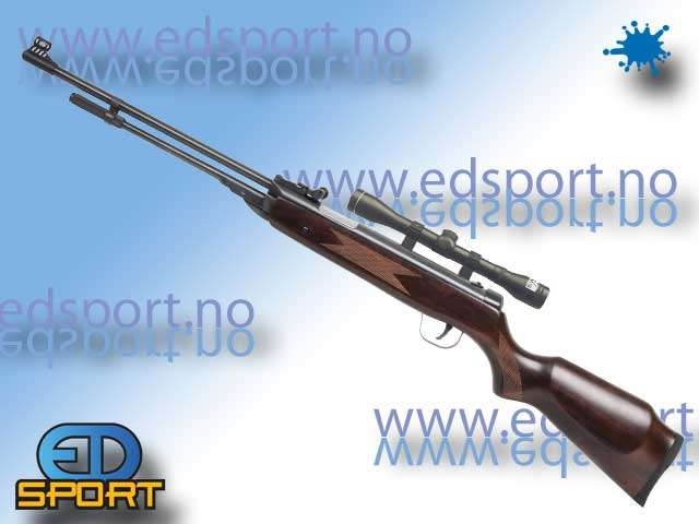 Swiss Arms Custom DB5 Wood underlader, m/ kikkerts