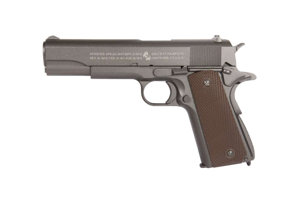 Colt 1911 A1 - Full metall & Blow Back, Co2