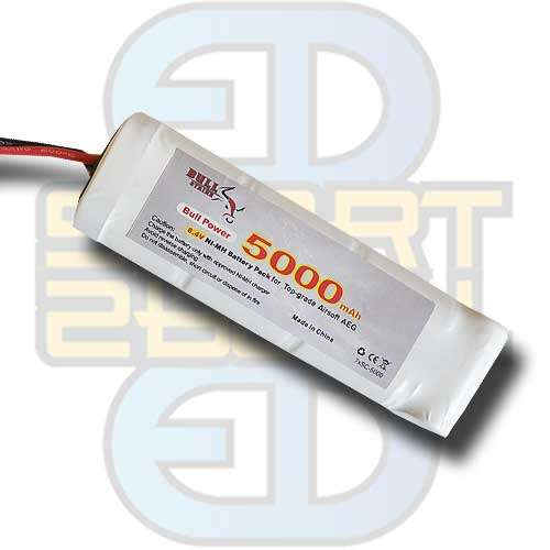 8,4V 5000mAh - Large Type, batteri