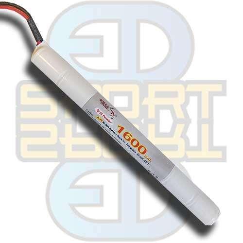 8,4V 1600mAh - Stick Type, batteri