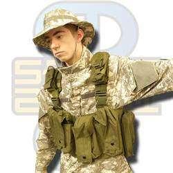 Swiss Arms Molle Tactical vest m/Camelback lomme -
