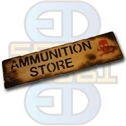Skilt, Ammunition Store