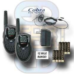 Radiopakke med strupe mikrofon
