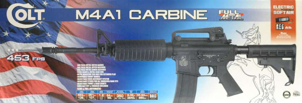 Colt M4A1 Carbine - Full metall, AEG