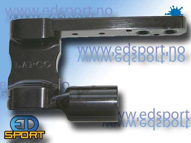 Lapco Drop Forward- 2 Hole Universal - Svart