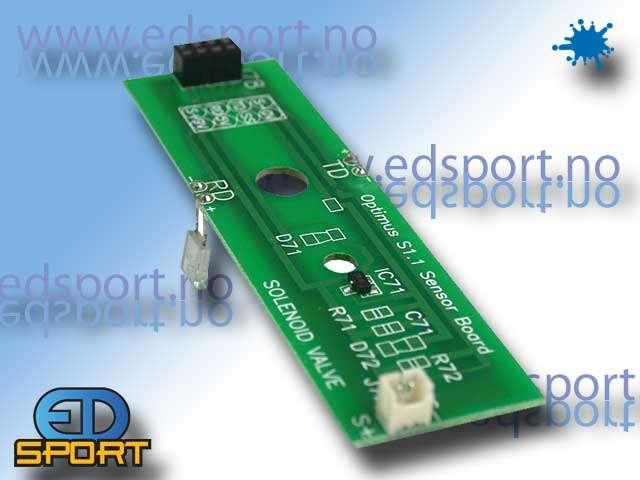 Invert Mini, Sensor Board and Eyes