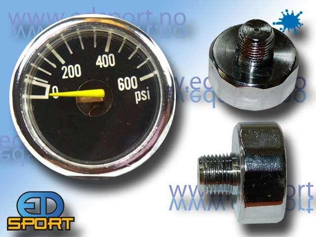 Manometer , 0-600PSI