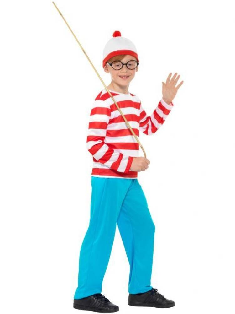 Where`s Wally Kostyme
