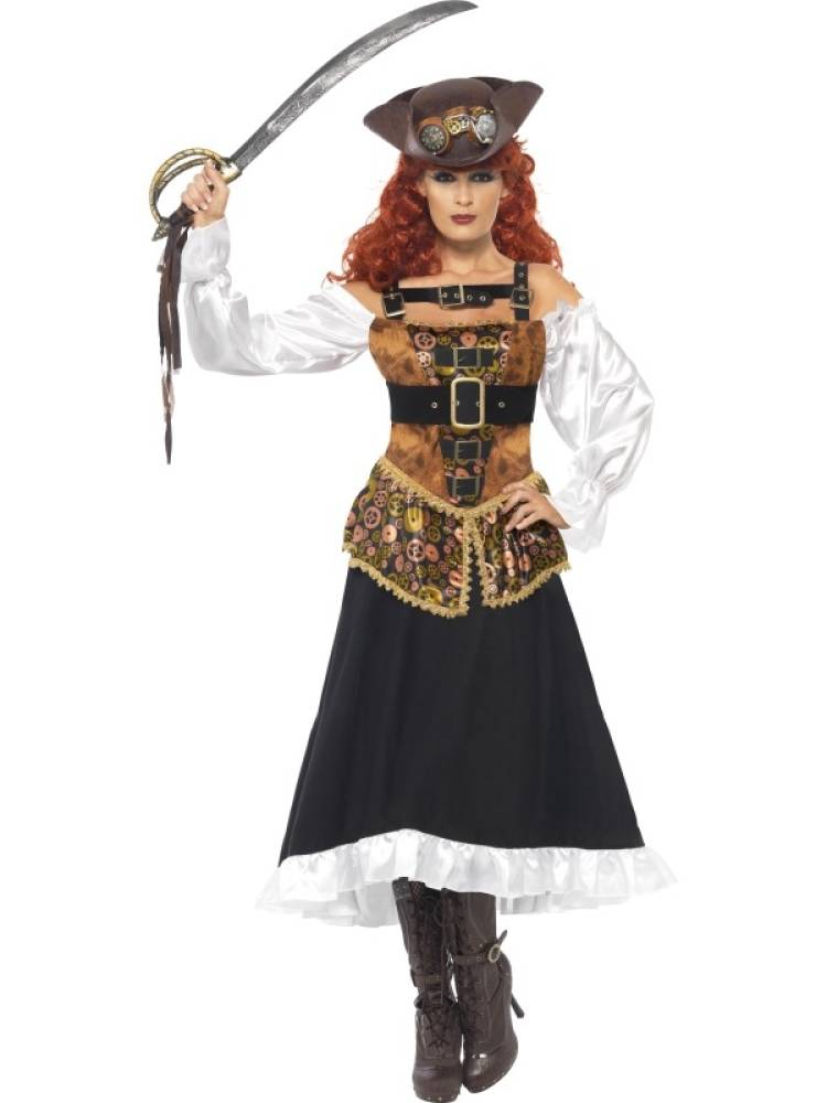 Steam Punk Pirate Wench