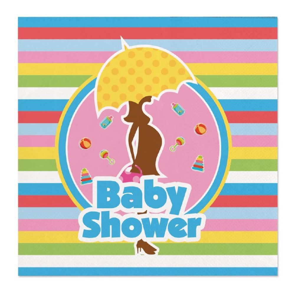 Servietter - Babyshower