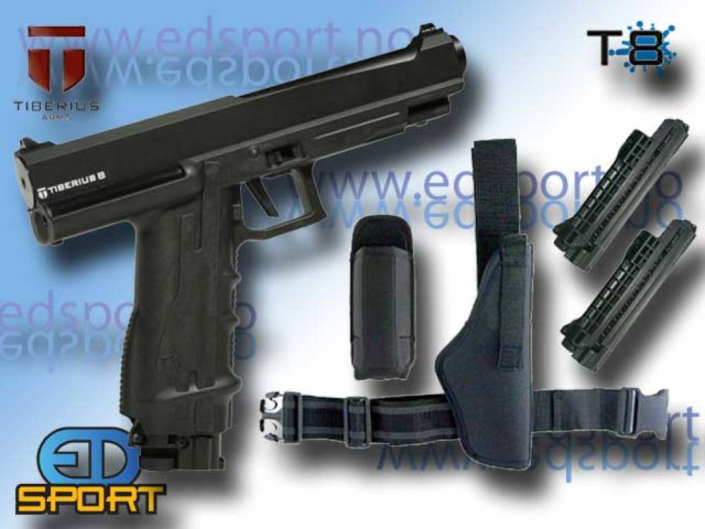 Tiberius Paintball Pistol, pakkeløsning