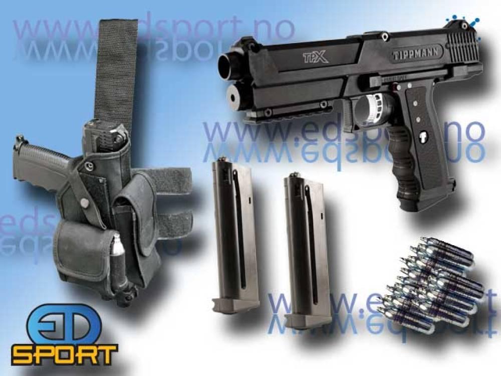 TiPX Pistol, Tippmann, pakkeløsning