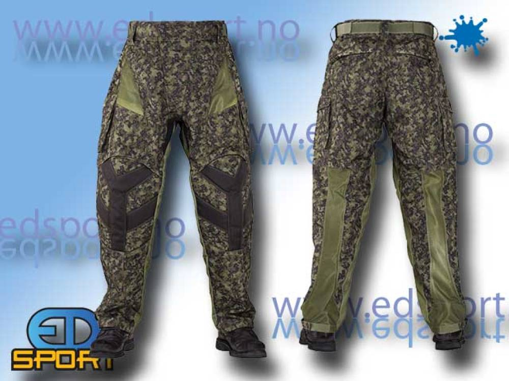 BT Pants Combat, Woodland Digital