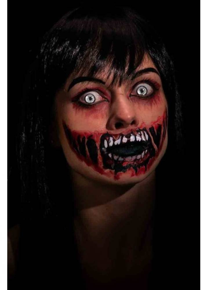 Face Tattoo - Zombie