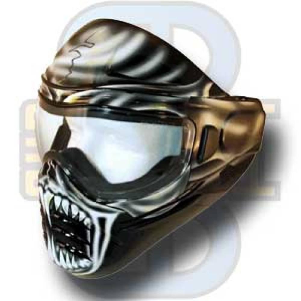 Bull Strike Maske, Monger