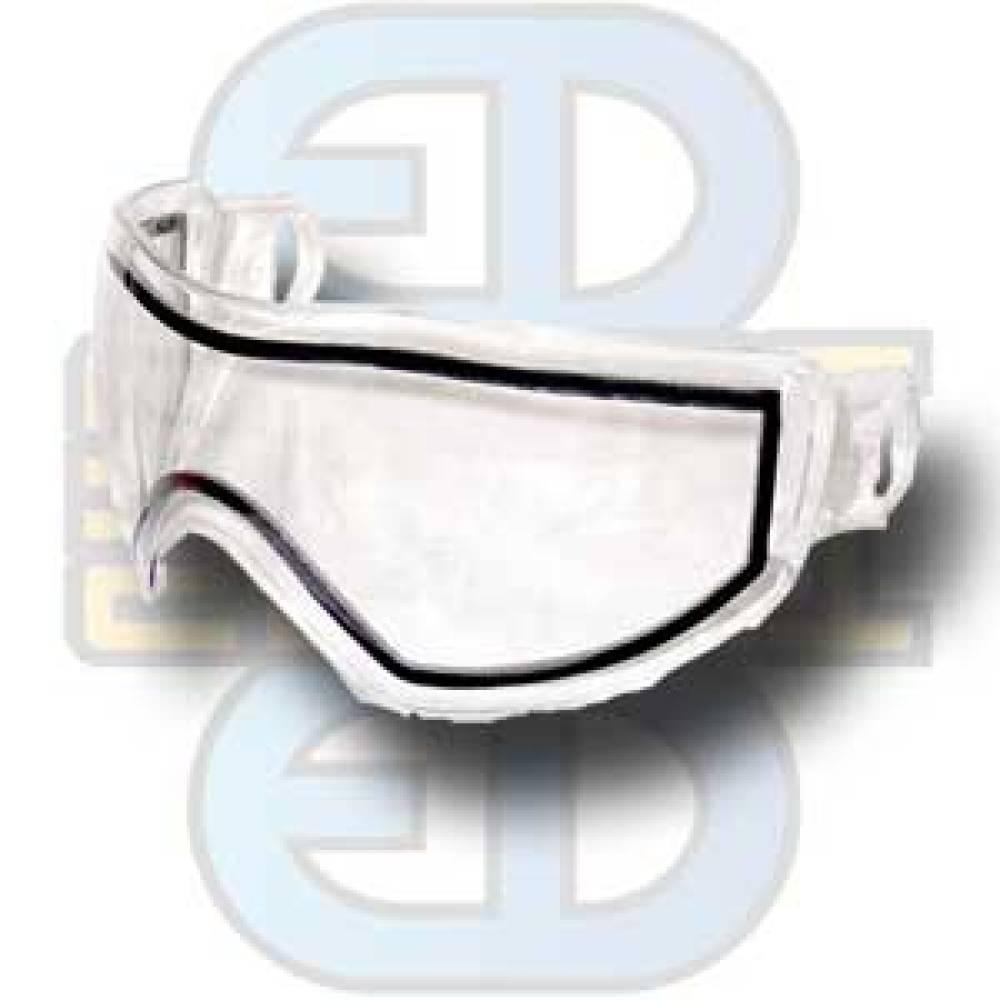 Bull Strike Maske, dobbelglass, klart