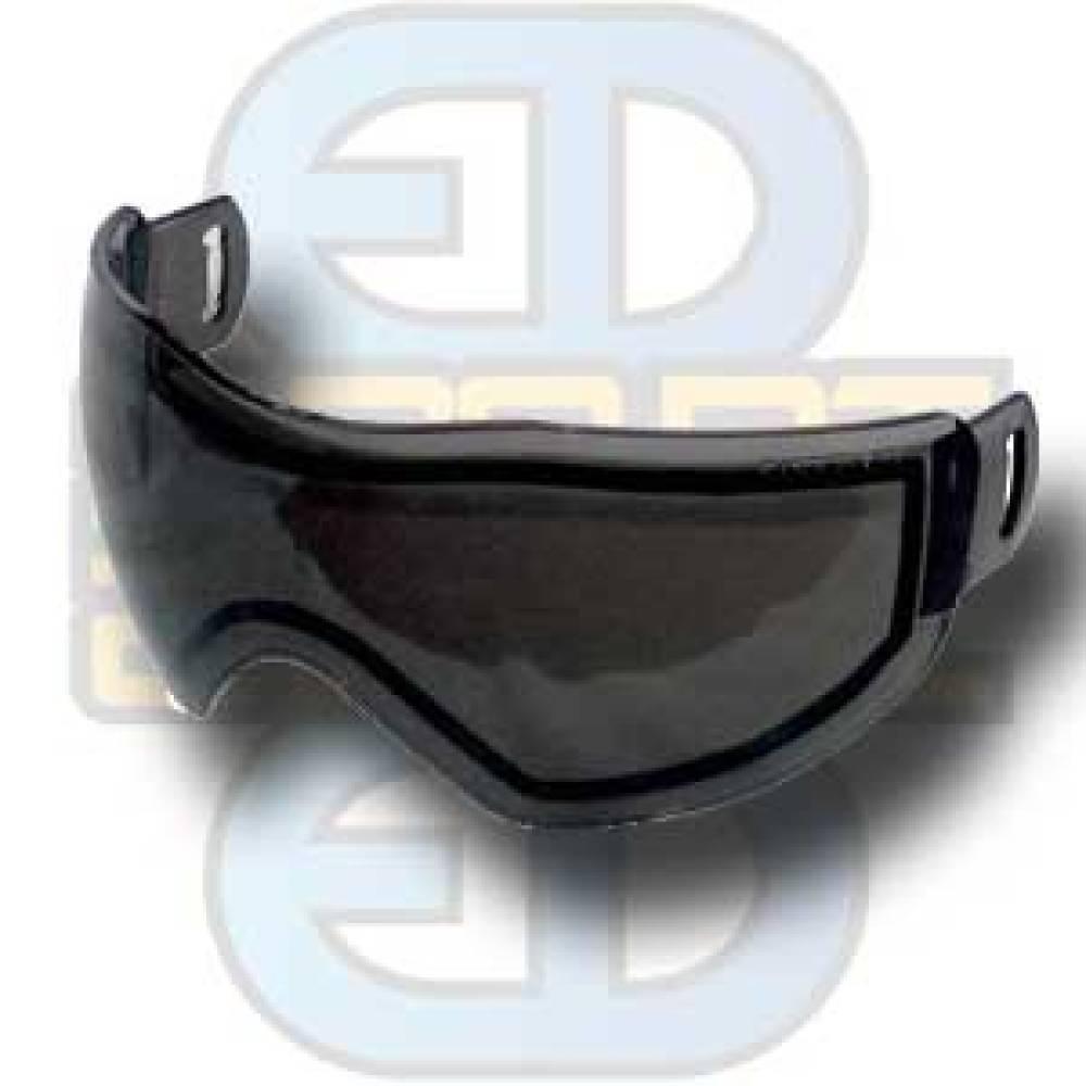 Bull Strike Maske, dobbelglass, smoke