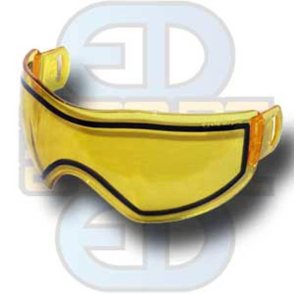 Bull Strike Maske, dobbelglass,  gult