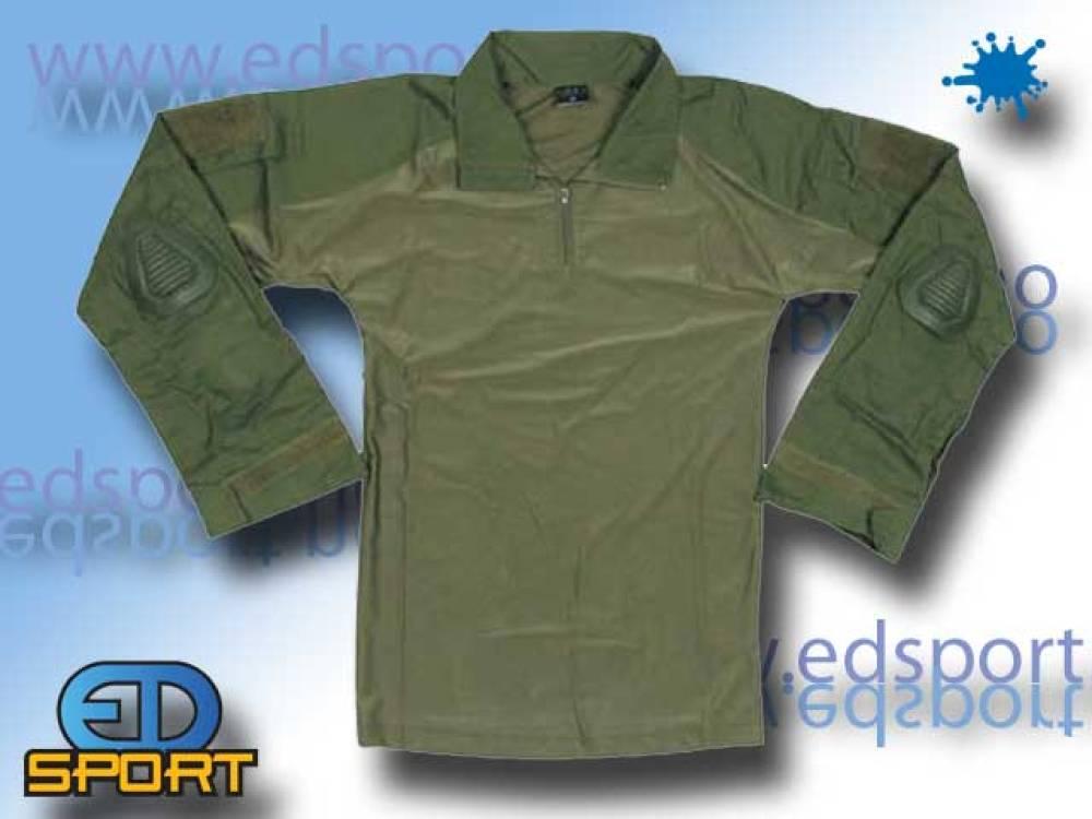 Feltskjorte, US Combat, oliven