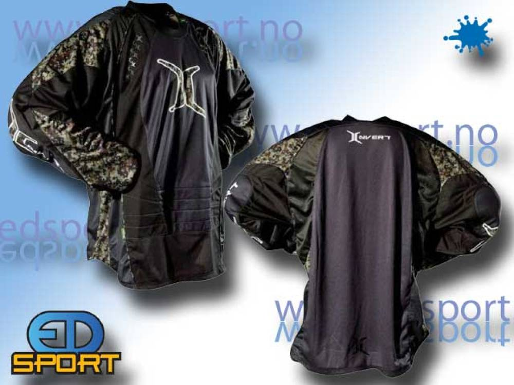 Invert Paintball Digi Jersey, Blå