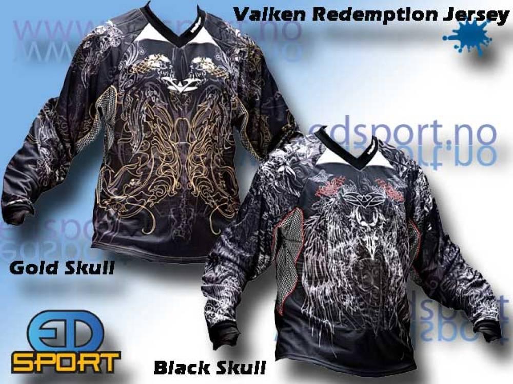 Valken Redemption Jersey, Gold Skulls