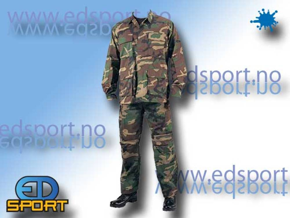 Uniform, - Woodland