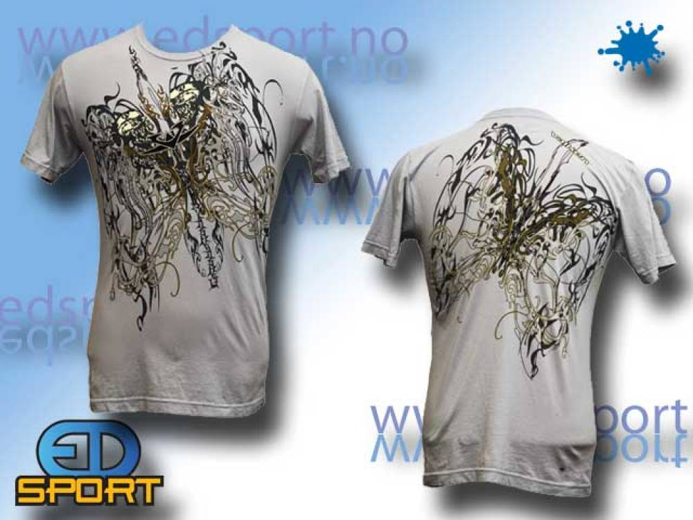 T-Skjorte Valken Gold Skulls Lite