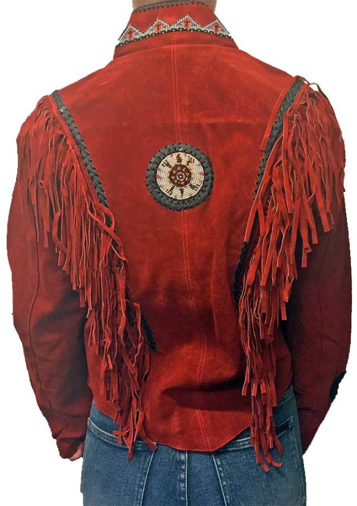 Indianer Jakke, Rød