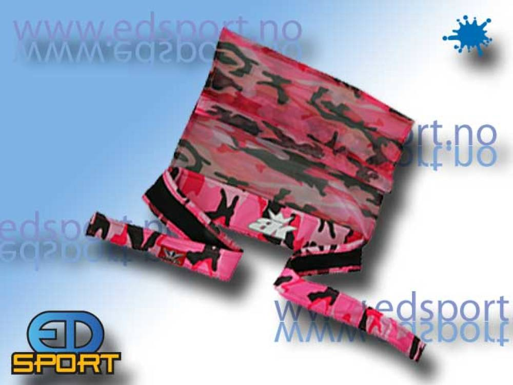 BunkerKings Headband Pink Camo