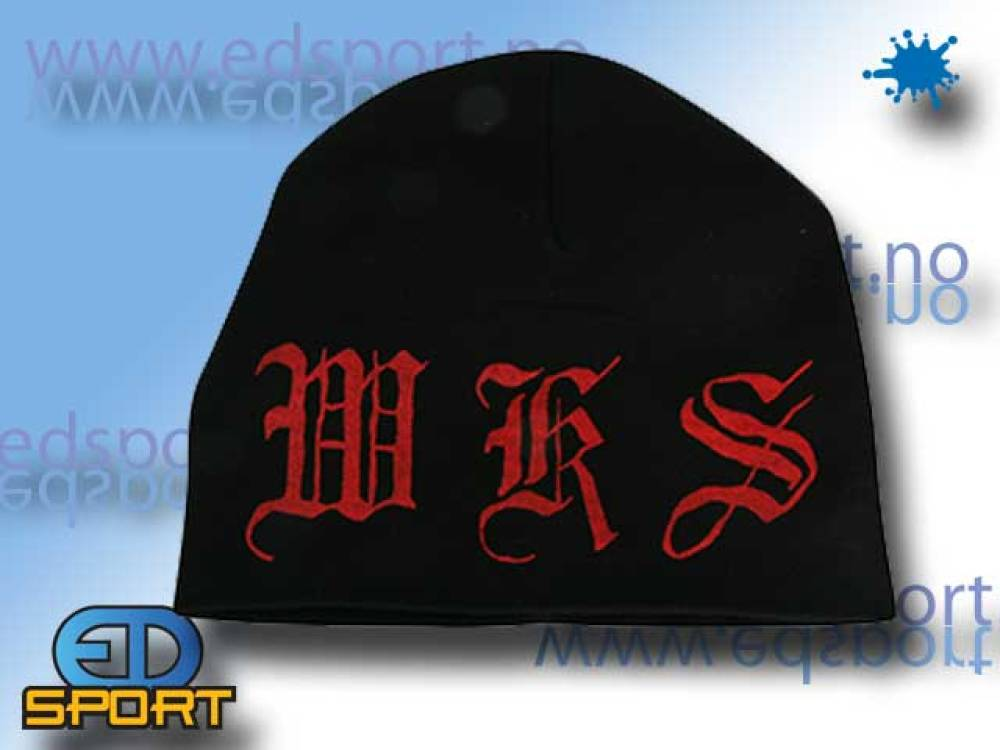 BunkerKings Thin Beanie WKS Letters Red