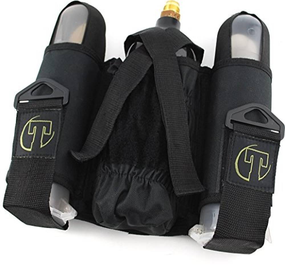 Back Pack, 2+1, svart, Tippmann