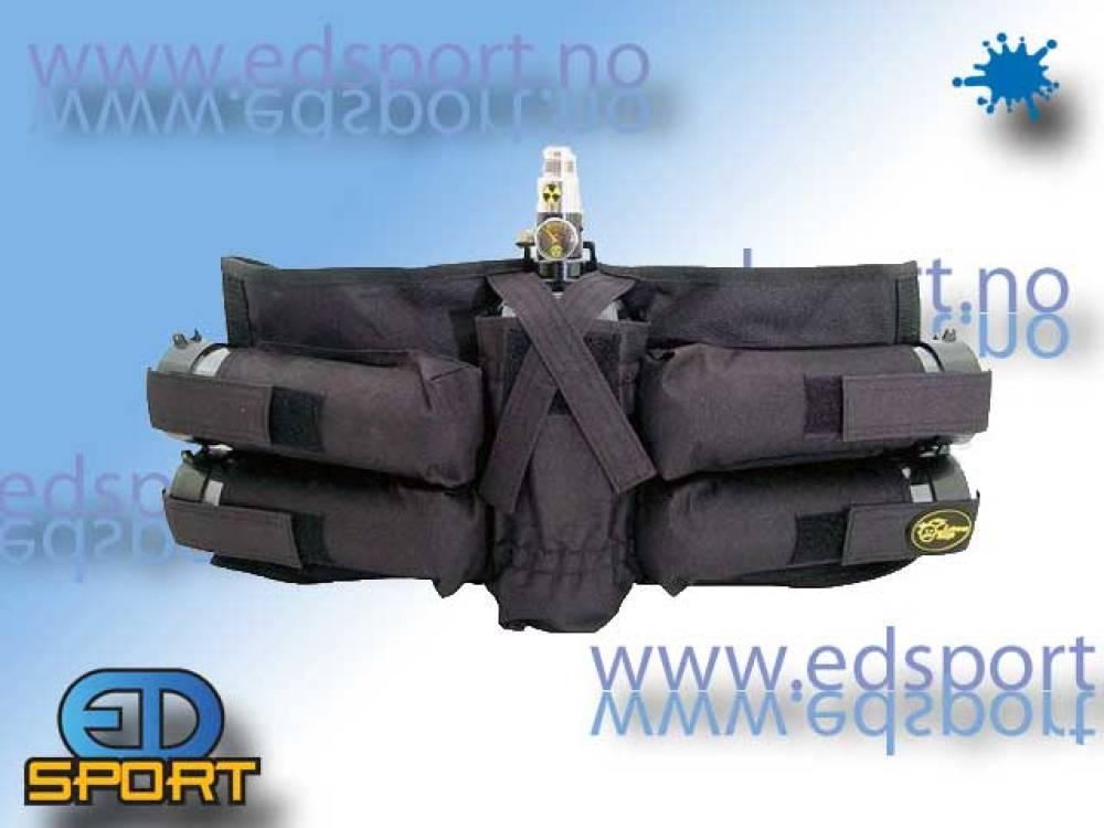 Back Pack, JT 4+1, svart