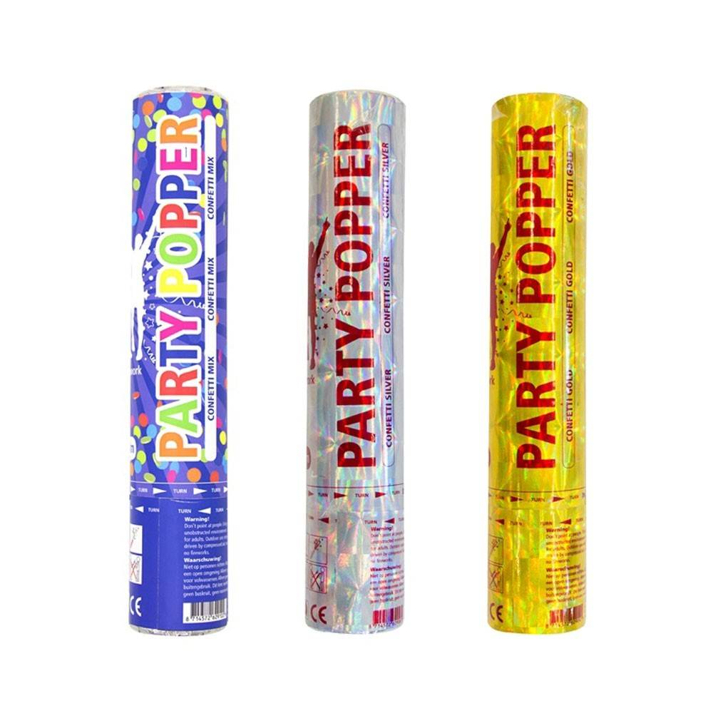 Party popper konfetti kanon