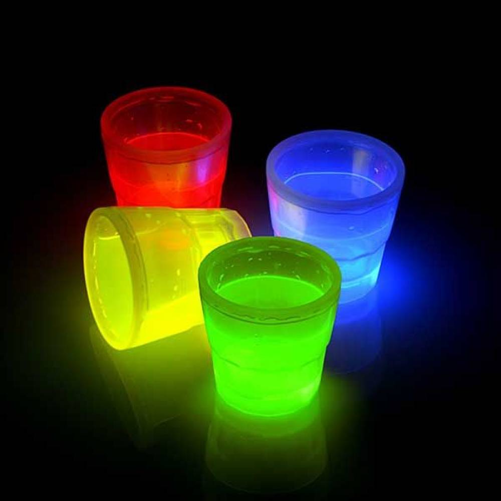 Glowsticks shotglass