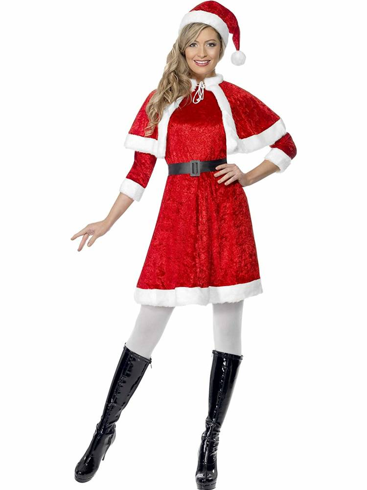 Miss Santa Fleece Kostyme