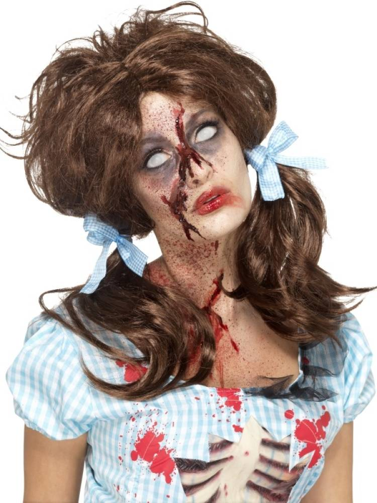 Zombie Bloody Country Girl Parykk