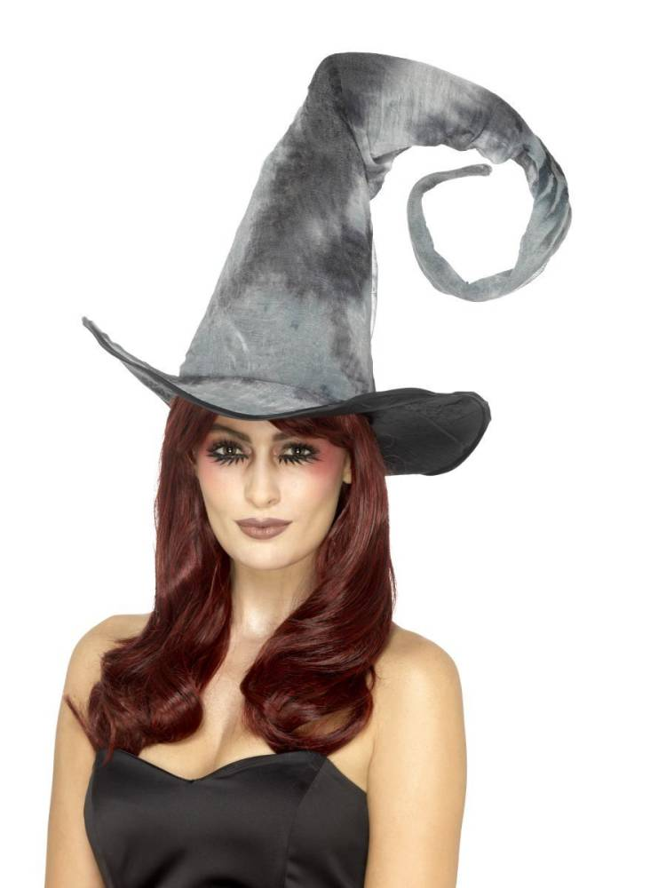 Bendable Witch Hatt - Grå