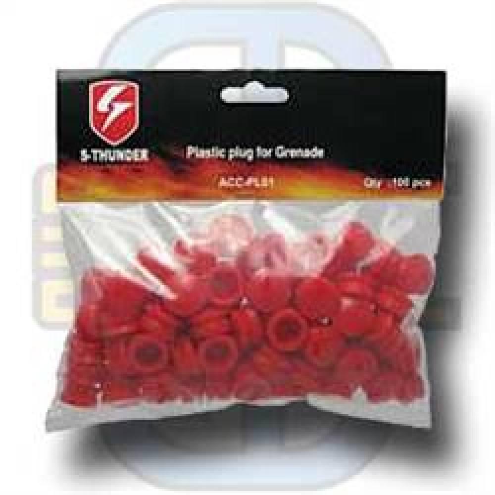 Plasthetter for 40mm granat, 10 stk