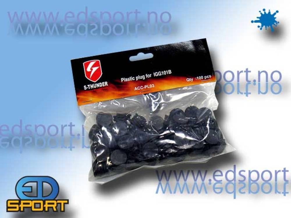 Plugg for M80TR trampemine, væskeversjon, 10 stk