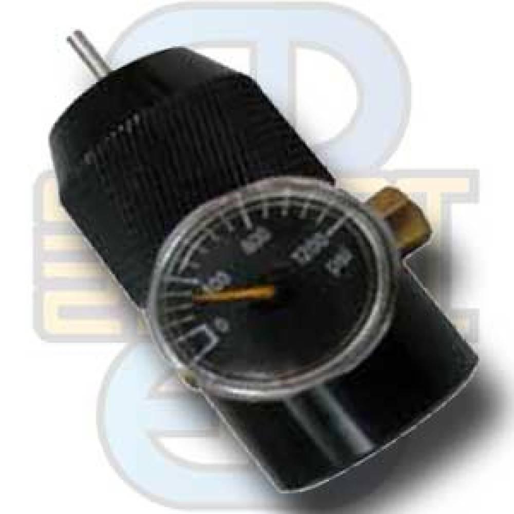 Granatlader med manometer