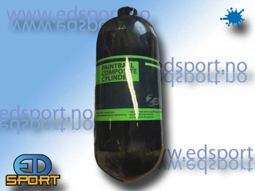 Luftflaske, 1,1 liter, 310 bar/uten regulator, Com