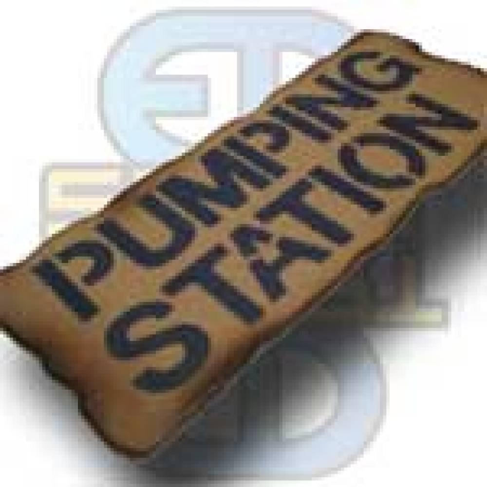 Skilt, Pumping Station