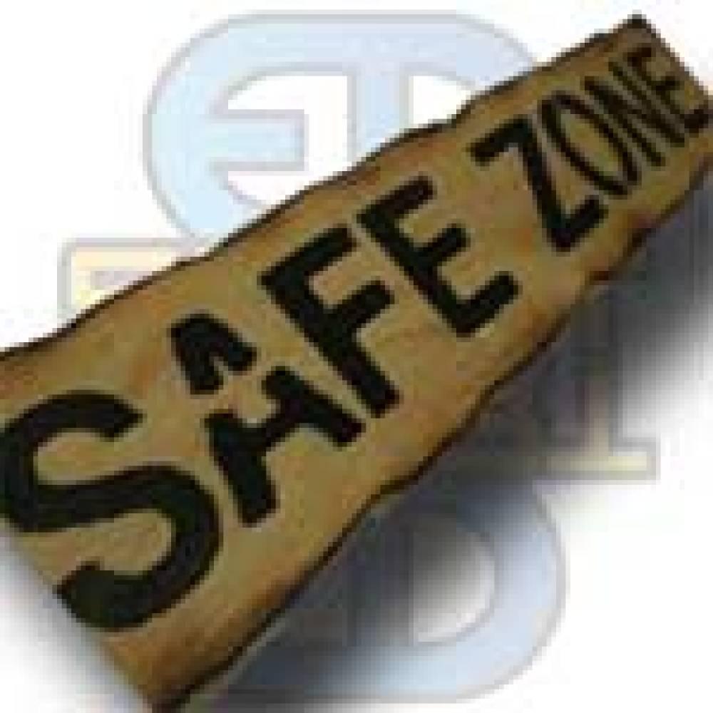 Skilt, Safe Zone