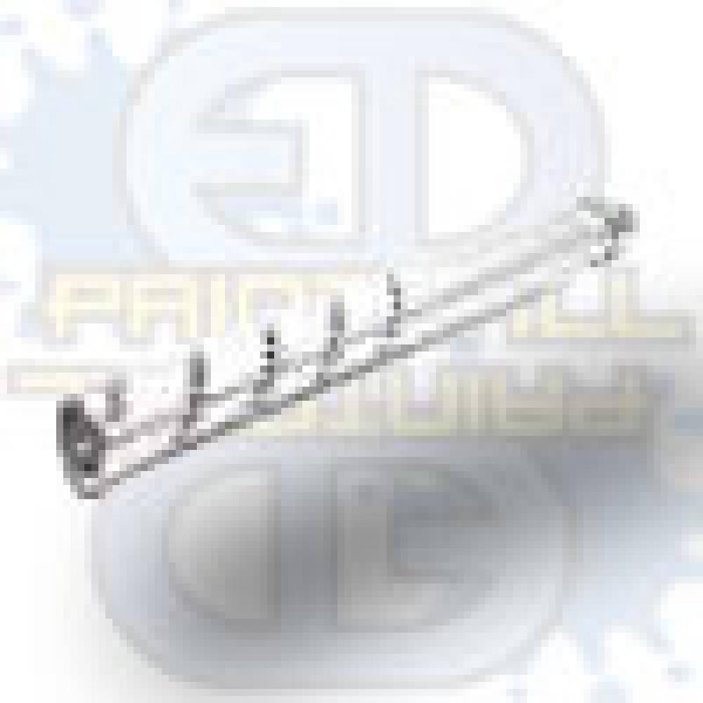 """Smart Parts Freak Aluminum Front, 10"""" silver, TD"""
