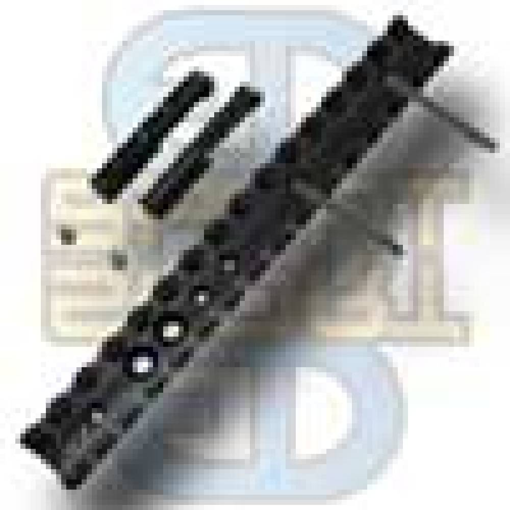 "6"" long x 7/8"" wide MIL-STD Rail Kit"