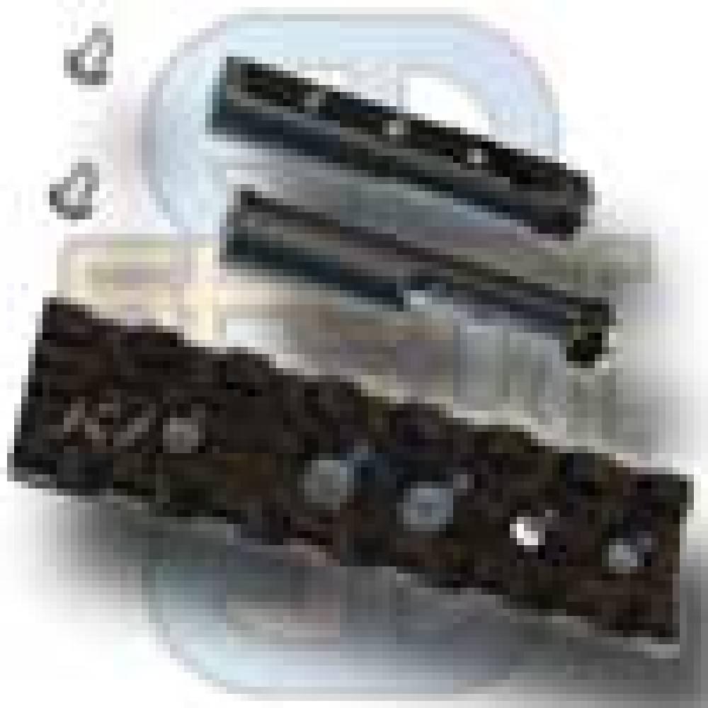 3 inch long x 7/8 inch wide MIL-STD Rail Kit