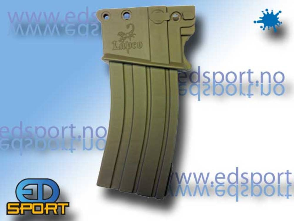 M4 Style Magazine for the Tippmann A5, Dark Earth