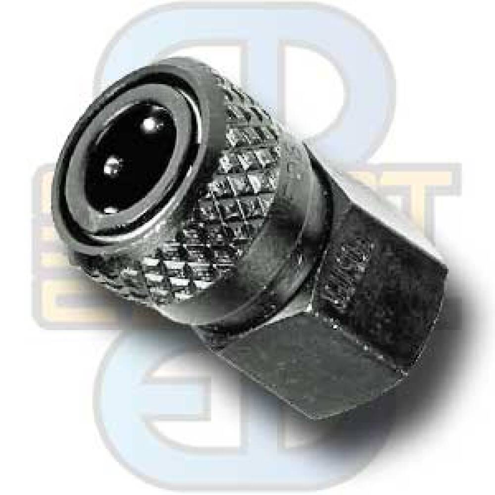 Hurtigkopling, rustfri, høytrykk (5000PSI)